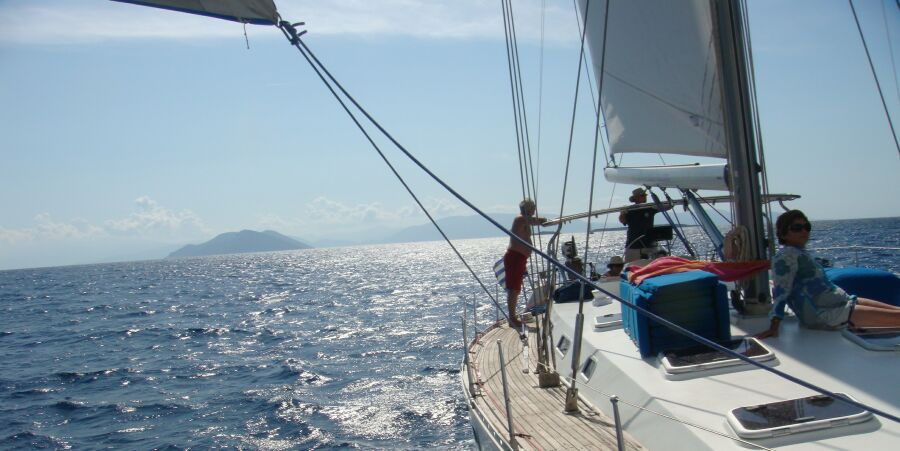 Sailing Holidays from Corfu, Lefkas and Athens Greece