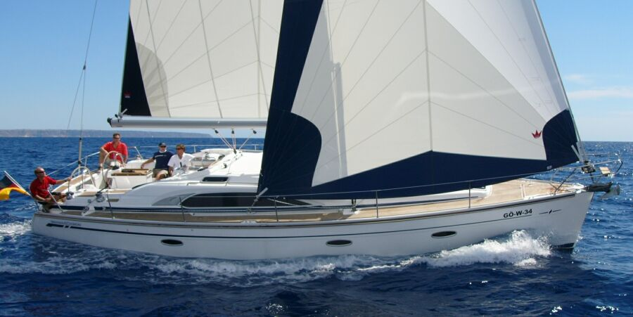 Bavaria 40 Sailing Yacht Charter from Corfu, Lefkas and Athens Greece